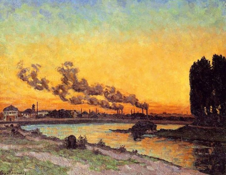 guillaumin - setting sun at ivry