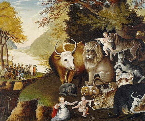 hicks - peaceable kingdom