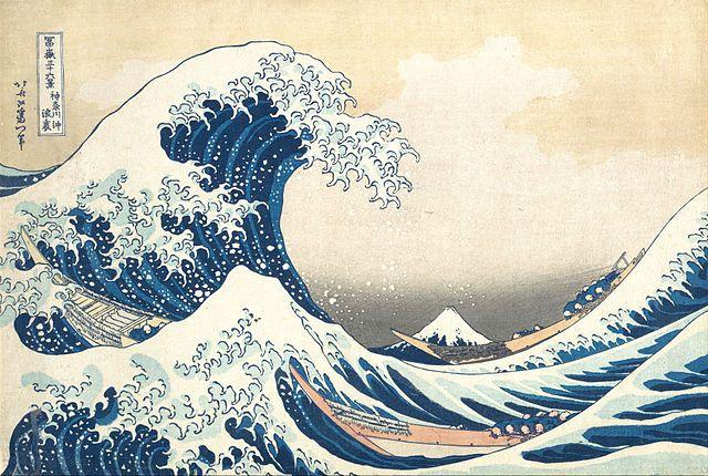 hokusai - wave