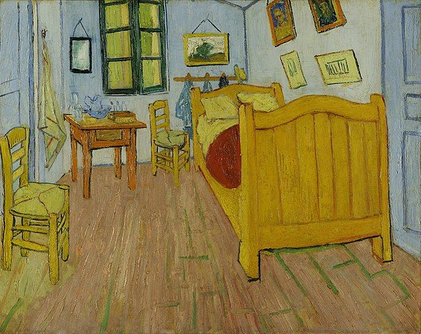 van gogh - bedroom
