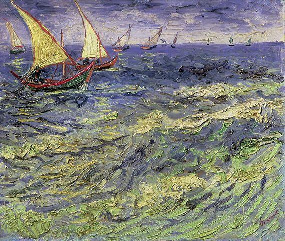 van gogh - seascape