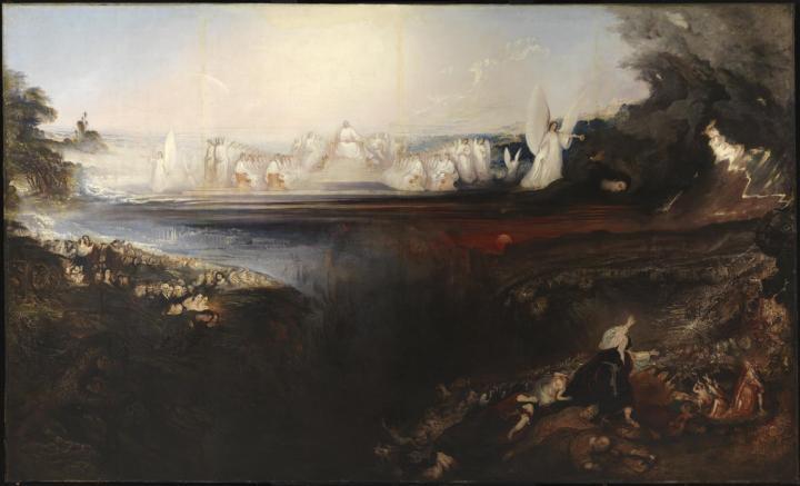 The Last Judgement 1853 by John Martin 1789-1854