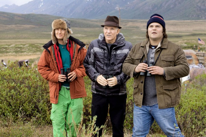 OWEN WILSON STEVE MARTIN & JACK BLACK THE BIG YEAR (2011)