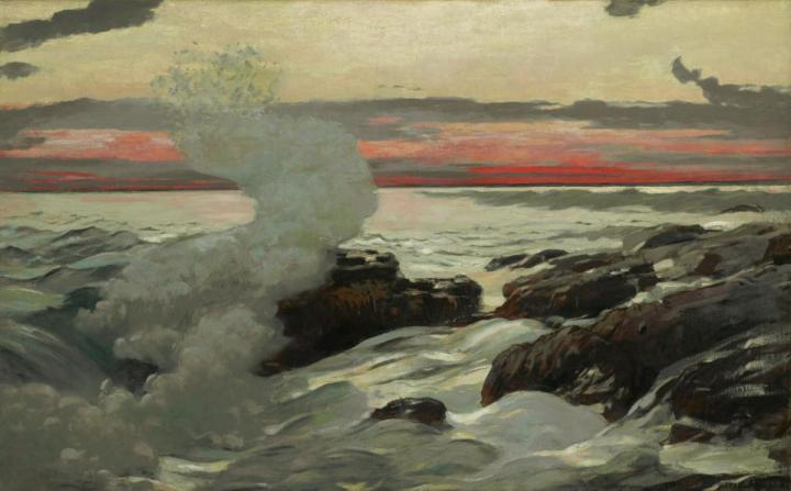 11Winslow Homer, West Point, Prout's Neck, 1900